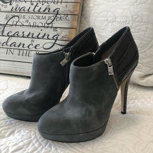 Michael Kors heel booties both size 7